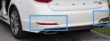 Car ABS Chrome Rear Tail Fog Light Lamp Cover Trim for Hyundai Sonata (LF) 2015
