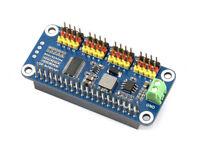 Servo Driver HAT for Raspberry Pi Zero/2B/3B/3B+ 16-Channel 12-bit I2C Interface