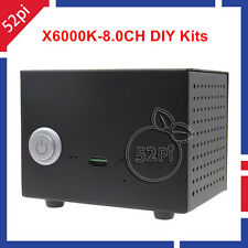 X6000K 8.0 Channel DIY Kits for Raspberry Pi3 Expansion Board Metal Case Adapter