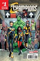 Champions #1 (First Print / Marvel Now / Ms. Marvel / Kamala Khan / 2016 / NM)