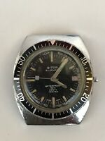Vintage Sitor 23 Jewels Wrist Watch Man's Old Rare Retro Waterproof Diver 200ft