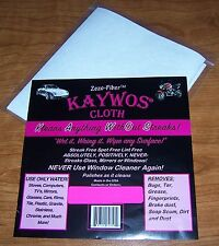 KAYWOS CLOTH - Zero Fiber - AMAZING!  includes FREE SHIPPING