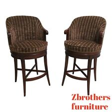 New ListingPair Councill Craftsman Furniture Counter Height Swivel High Top Bar Stools B
