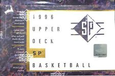 1996 Upper Deck SP Basketball Sealed Hobby Box