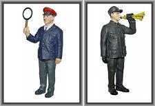 Dingler Zinnfiguren 2er-Set handbemalt - 1:32 Spur 1 (Set-03)