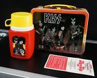 1977 KISS Lunchbox w/ Thermos & Paperwork - Nice! - Vintage Aucoin