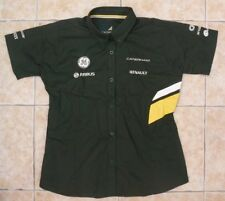 Caterham F1 Race Shirt Femme Team Kit Vêtement Formula One 1 Haut L Large