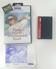 WORLD TOURNAMENT GOLF  SEGA MASTERSYSTEM 2 MASTER SYSTEM