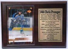 St. Louis Blues Chris Pronger Hockey Card Plaque