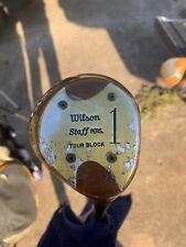 New listing Wilson Staff Tour Block 4300 1 Wood RH