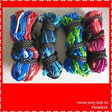 """PACK OF 2 COLOURED STRONG 42"""" RINGED HAY HAYLAGE NETS 9.95"""