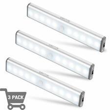 3 Pack of Motion Sensor Closet Lights LED Wireless Under Cabinet Lighting