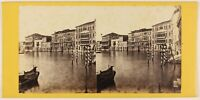 Venezia Palais Rezzo Italia Foto Stereo Th1L6n16 Vintage Albumina c1865