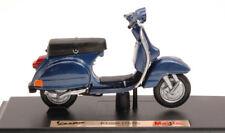 Vespa Piaggio P150X 1978 Blue 1:18 Model 4272B MAISTO