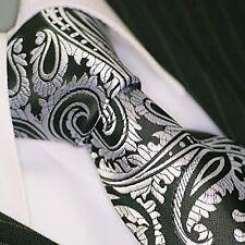 BINDER de LUXE KRAWATTE tie slips corbata cravatte Schlips Krawatten 103 Schwarz