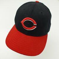 Cincinnati Reds New Era Ball Cap Hat Fitted 7 1/4 Baseball Adult