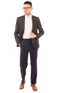 RRP €780 COSTUME NATIONAL HOMME Wool & Ramie Blazer Jacket Size 46 S Fully Lined