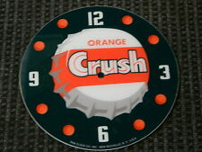 "*NEW*14.25"" CRUSH SODA POP ROUND GLASS FACE FOR PAM CLOCK"