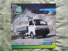 OPUSCOLO CAMION PIAGGIO – Gamma Porter – 2008
