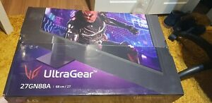 LG UltraGear 27GN88A Gaming Monitor 144hz 1ms featuring Nvidia G-Sync