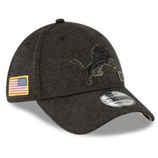 2020 Detroit Lions New Era 39THIRTY NFL Salute To Service Sideline Cap Hat Flex