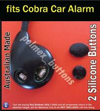 fits Cobra Bridge Series car alarm remote - 2 Repair Silicone key Buttons - 1set