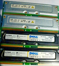 1GB KIT 4X 256 RAMBUS RIMM RD RDRAM 184PIN