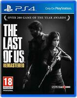The Last of Us Remastered Sony Playstation 4 PS4 Game Disc