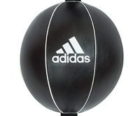 Adidas Boxing Speed Ball Floor To Ceiling Leather Double End Punch Bag Gym