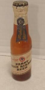 """Vintage 1950's Pabst Special Miniature Novelty 4"""" Beer Bottle Shelf Z4"""