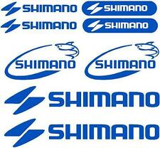 SHIMANO - Set of 8 Decals - BOAT CAR DECALS