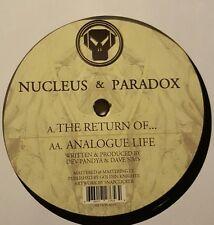 NUCLEUS & PARADOX - THE RETURN OF / ANALOGUE LIFE - RARE DRUM & BASS METALHEADZ