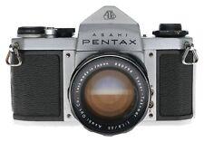Asahi Pentax SV 35mm SLR Film Camera Super-Takumar 1:1.8/55 Lens