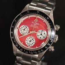 Alpha  mechanical chronograph watch