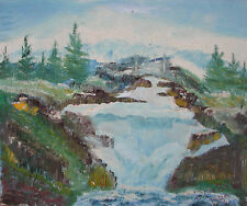 DAN BYL My FIRST Painting ever! ORIGINAL ART PAINTING