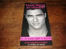 TANCREDE - RARE FLYER CONCERT AU TRIANON !!!!!!!!!