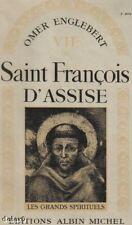 VIE DE SAINT FRANCOIS D'ASSISE / ENGLEBERT / AM