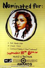 Madonna Poster 1998 Mtv Vma'S Original Promo