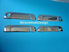 8 PCS BMW E36 E32 E34 & Z3 CHROME STAINLESS STEEL OUTER DOOR HANDLE COVERS SET