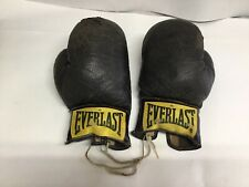 RARE 2940 Vintage Everlast Black Boxing Gloves 50's?
