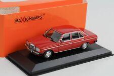 Mercedes-Benz 230 E W123 rot 1982 diecast 1:43 Minichamps Maxichamps