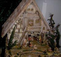 Futterkrippe natur BxHxT 5,7 cmx6,6 cmx4,9cm Erzgebirge Zubehör Weihnachtskrippe