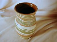 Old Silver Springs Mission Swirl 6in Vase Excellent Condition Silver Springs, FL