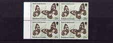 Solomon Islands - 1982 25c Butterfly - WMK CROWN TO RIGHT OF (CA) - U/M - SG457w