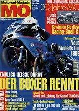 mo 10/98 1998 Bimota KB3 Supermono Biposto MuZ Skorpion Buell X1 Lightning Harri
