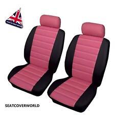 VW Pink Leatherlook Cubierta de asiento de coche Golf Plus Passat CC Phaeton Polo Up SV Sharan