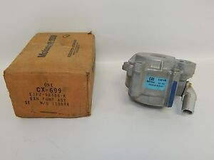 New OEM 1985-1986 Ford Escort EXP Secondary Air Injection Smog Exhaust Pump