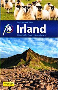 Reiseführer Irland Nordirland 2018/19 LANDKARTE Michael Müller Verlag 804 Seiten