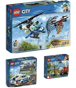 New LEGO 66619. City Police 3 in 1 Super Pack - Includes 60207. 60239. & 60212