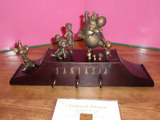"DISNEY FANTASIA 65th Anniversary MUSIC BOX  Mickey Mouse ""AS IS"""